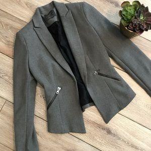 Zara TRF collection gray blazer